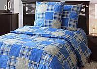 Двуспальное постельное белье Заплатки 180*220 хлопок