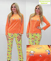 Женская велюровая пижама отличного качества  S M L XL