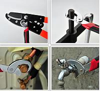 Набор Универсальных Самозажимных ключей для болтов  разных размеров Snap n Grip