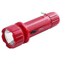 Фонарь ручной светодиодный аккумуляторный Yajia YJ-217