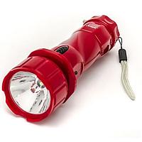 Ручной классический аккумуляторный фонарь Yajia YJ-217 (LED 1)