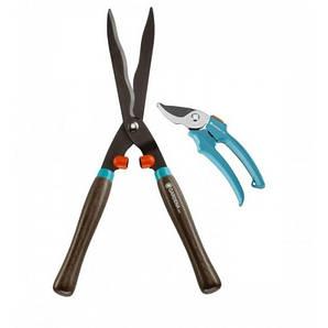Ножницы для живой изгороди + секатор Gardena