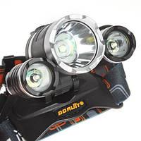 Хороший налобный фонарь Boruit RJ-3000