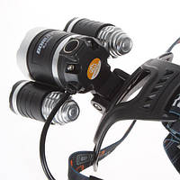Светодиодный фонарь Boruit RJ-3000 для охоты, рыбалки, туризма