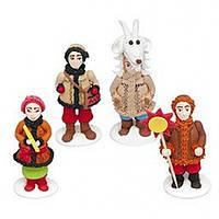 Набор фигурок из мастики Новогодний декор ( Вертеп )