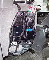 Полезный автомобильный органайзер на спинку сиденья  (Auto Seat Organizer)