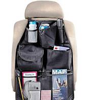 Удобный автомобильный органайзер – накидка на переднее сидение с карманами (Auto Seat Organizer)