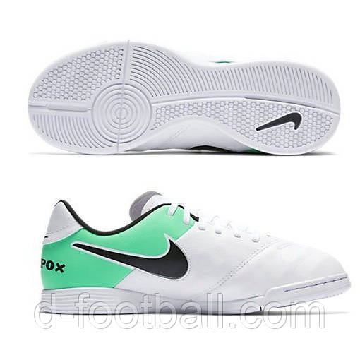 14298de32a68 Футзалки детские Nike Tiempo Legend VI IC JR 819190-103 - Интернет-магазин «