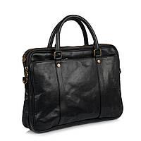 Портфель Virginia Conti VCM0502A кожаный Черный