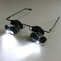 Увеличивающие очки для работы с мелкими предметами MAGNIFIER 9892A-II