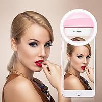 Кольцо для селфи - Selfie Ring Light - Светодиодное кольцо для смартфона, фото 1