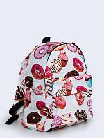 """Молодежный рюкзак с 3d-принтом """"кексы и пирожные"""" Vilno"""