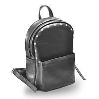 Женский кожаный рюкзак jizuz carbon-s black Jizuz