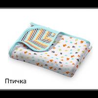 Одеяльце двухстороннее хлопковое BabyOno 75х100 см 821, фото 1
