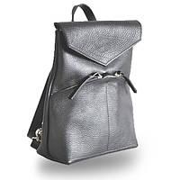 Женская кожаная сумка-рюкзак со съемными ручками jizuz balance black Jizuz