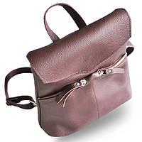 Сумка рюкзак женская благородного винного цвета из натуральной кожи jizuz balance wine Jizuz