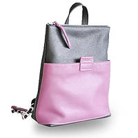 Женская сумка рюкзак из комбинации кожи jizuz к-2  Jizuz