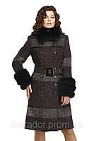 Женское зимние шерстяное пальто