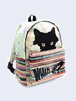 "3d-рюкзак для девочек ""what's up"" Vilno"