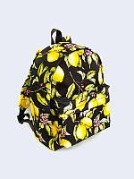 """Женский рюкзак с водостойкой ткани """" цветущие лимоны"""" Vilno"""