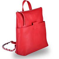 Яркая женская сумка-рюкзак трансформер k-2 red Jizuz