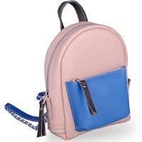 Яркий молодежный женский кожаный рюкзак на лето baby sport new mix (chain) Jizuz
