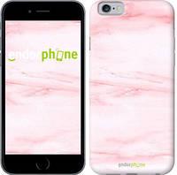 """Чехол на iPhone 6s розовый мрамор """"3860c-90-8079"""""""