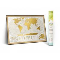 Скретч карта Travel Map Geography World