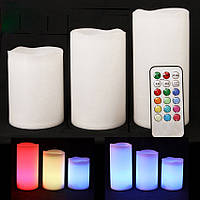 Красивые электронные свечи Scented Candles
