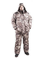 Зимний костюм камуфляжный флисовый.