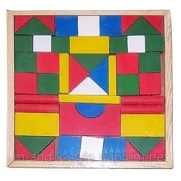 Конструктор Городок маленький , детская развивающая игрушка, ДЕРЕВО