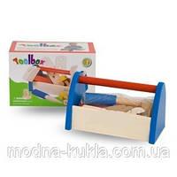 Набор инструментов с дерева ящике, интересная сюжетно-ролевая детская  игрушка!