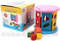 """Сортер деревянный  """"Цилиндр"""", увлекательная детская развивающая  игрушка!"""