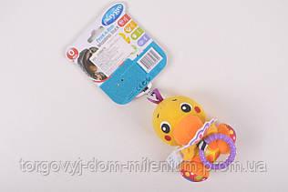 Дрожащая игрушка-подвеска Утенок от 0 месяцев 0185474