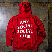 Топовая худи ASSC • Бирка печатная • Толстовка мужская Anti Social Social Club