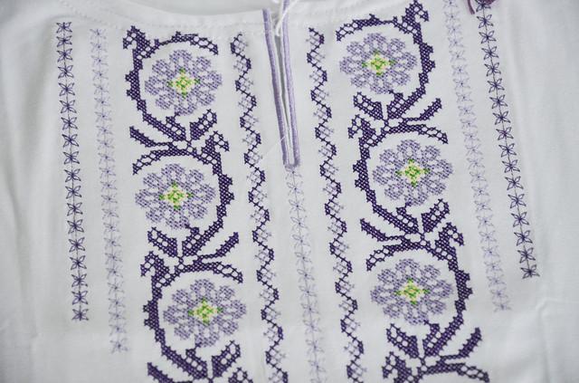 украинская белая женская футболка