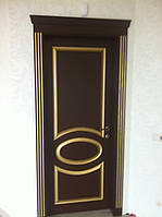 Межкомнатная дверь Овал Дуб