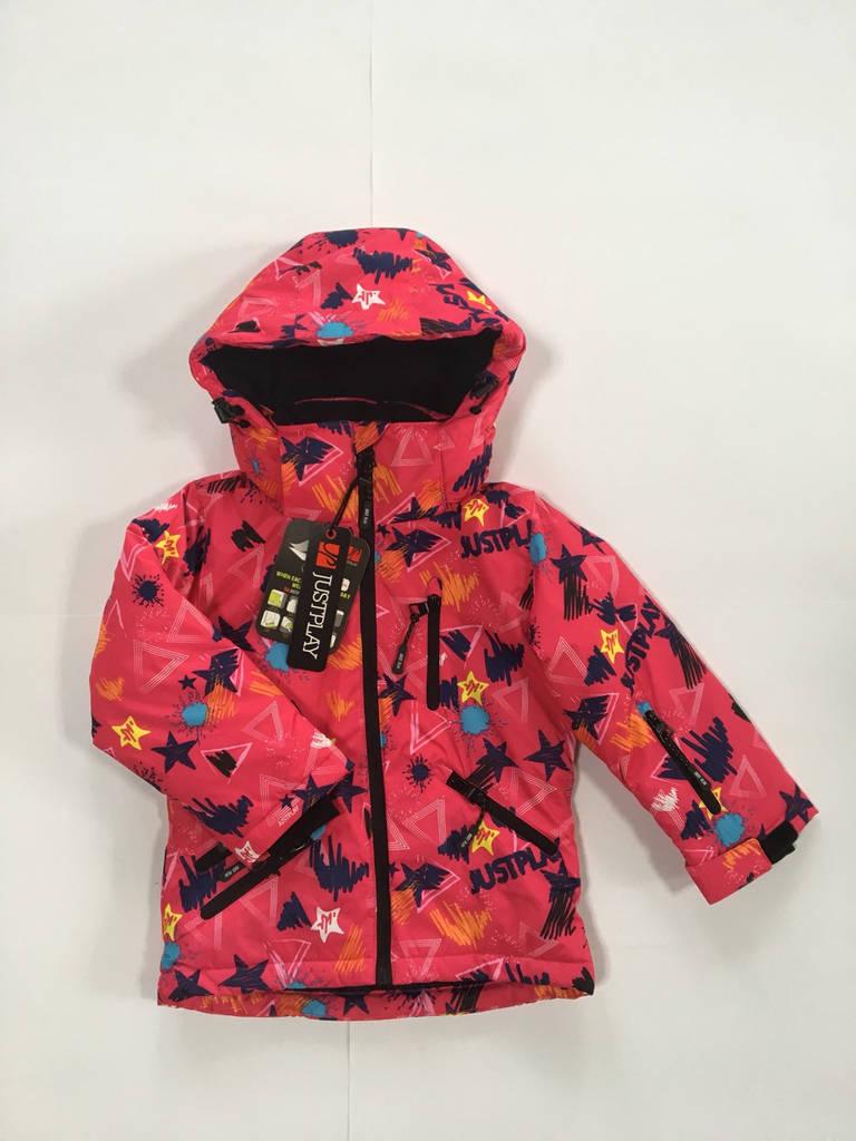 9f48ef4e624d Лыжная куртка для девочки JustPlay, размеры 92 98-116 122  продажа ...