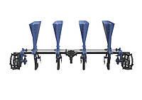 Чесночная сажалка ТМ АгроМир (4-ряд., ложки Ø34,5 мм, регулировка шага посадки), фото 1