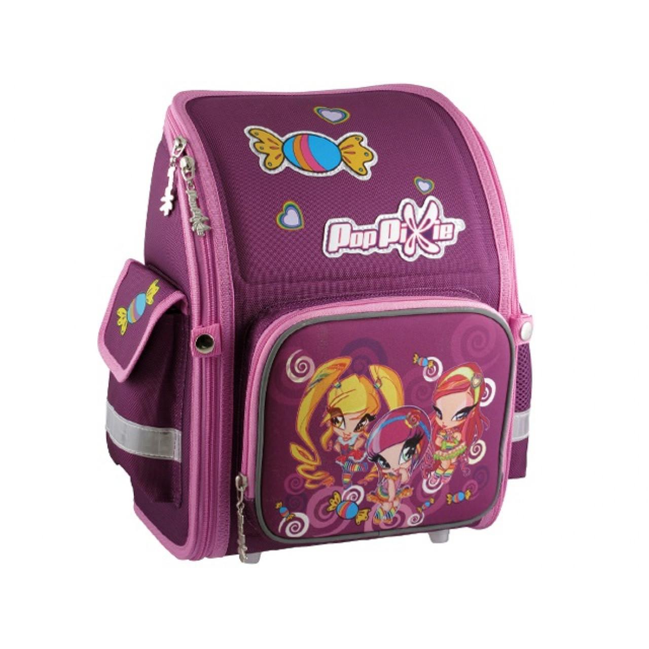 """Рюкзак шкільний - трансформер Kite """"Pop Pixie"""" PP14-528K 1 відділення 3 кишені"""