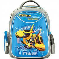 """Рюкзак """"Kite"""" Transformers 2 відділення, 2 кишені №TF17-512 S"""