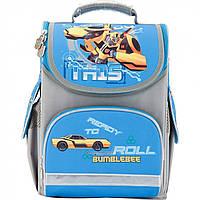 """Ранець каркасний """"Kite"""" Transformers 1 відділення, 3 кишені №TF17-501S-2"""