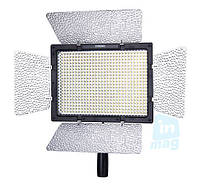 Yongnuo YN-600 Светодиодный свет со шторками + ДУ, 5500K (3200K/фильтр) + 0 грн. доставка!