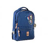 """Рюкзак """"Yes"""" синій 3 відділення, 2 кишені 28,5x44,5x13,5 см №OX-194/553997"""