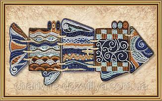 Набор для вышивки бисером Чудо-рыба