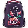 """Ранець каркасний """"Kite"""" Hello Kitty 2 відділення, 2 кишені № HK17-531M"""