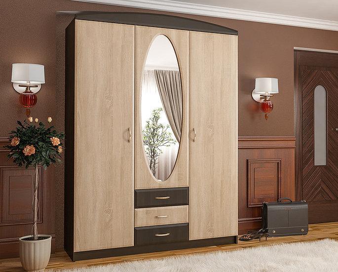 Прихожая Вита-1 (самоа)Мебель-Сервис