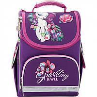 """Ранець каркасний """"Kite"""" Little Pony 1, 3 кишені №LP17-501S-1"""