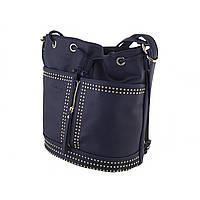 """Рюкзак-сумка """"YES Weekend"""" 1 відділення, 2 кишені, 29 х25х15см, темно-синій №554152"""