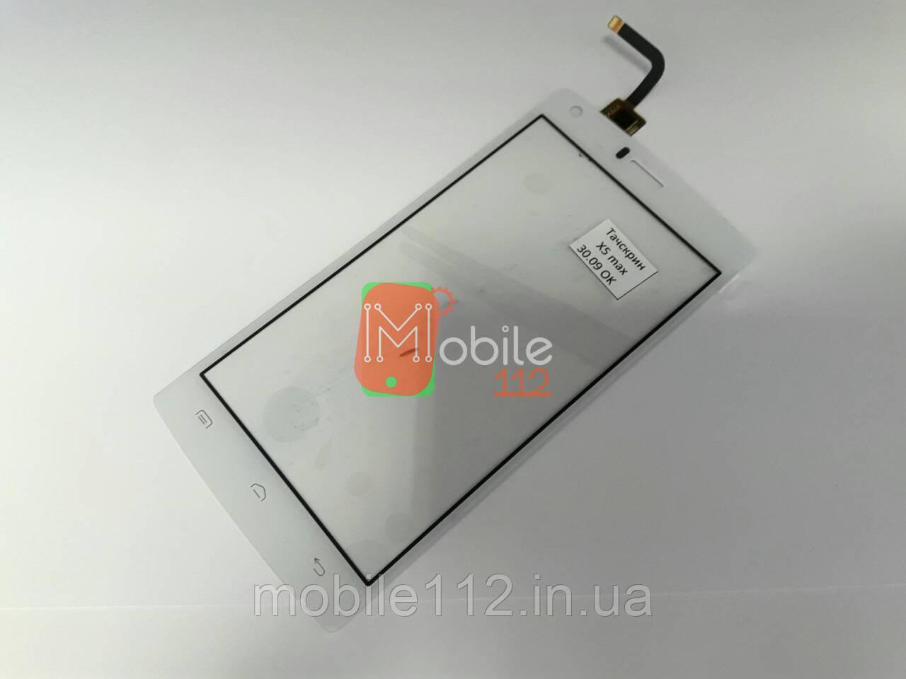 Тачскрин (сенсор) для Doogee X5 Max/ X5 Max Pro, белый